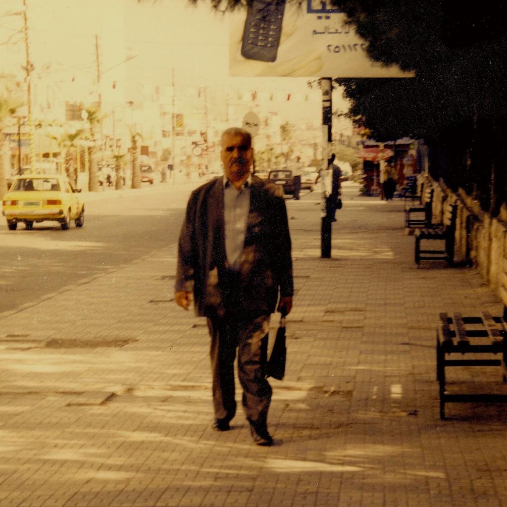Naceur ben cheikh à Irbid, Jordanie, en 1997 Photo Fateh Ben Ameur