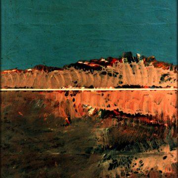 «La montée vers Essayda» 1991.