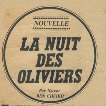 La nuit des oliviers.