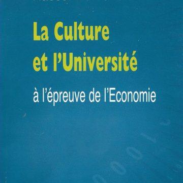 L'enseignement des lettres et des Arts et les défis de l'économie contemporaine.